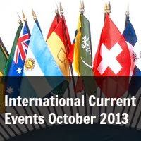 International Current Events October 2013