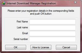 Internet download manager registration details for full version