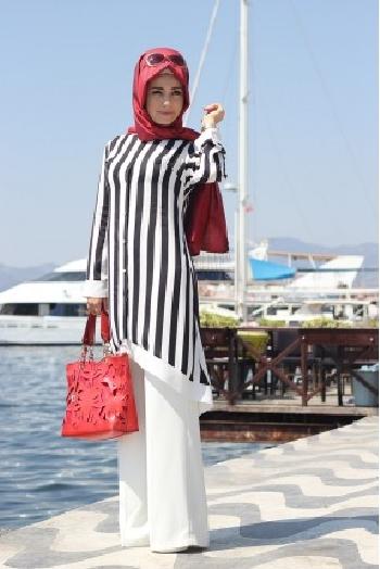 Pınar Şems Yeni Sezon Tesettür Tunik Modelleri