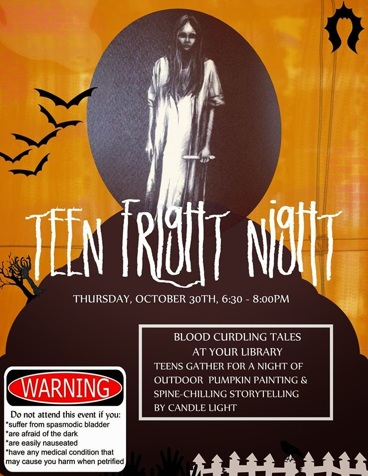 teen fright night poster