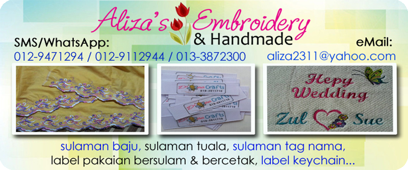 Aliza's Embroidery