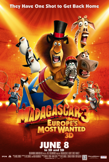 MADAGASCAR 3 EUROPES MOST WANTED (2012)