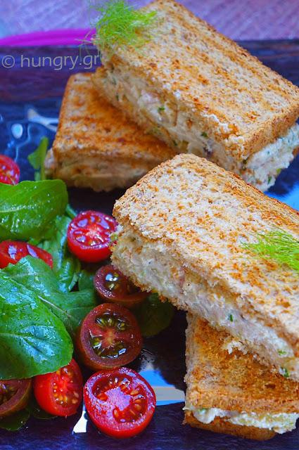 Tuna Cheese Sandwich
