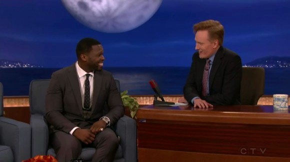 Conan (July 15, 2015) - Curtis '50 Cent' Jackson, Anders Holm, Father John Misty