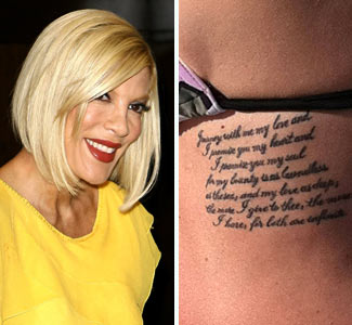 Celebrity Tattoo 2011