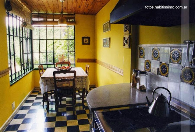 Casa chorizo cocina y vestíbulo