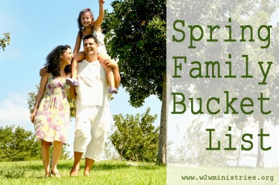 Spring Family Bucket List #family #fun #parenting #spring