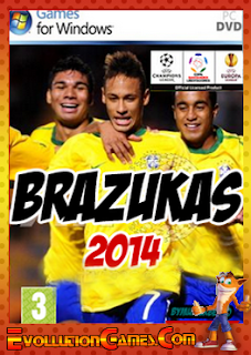 Baixar Patch Brazukas 2014 v.3.6 FULL – Pes 2011 – PC