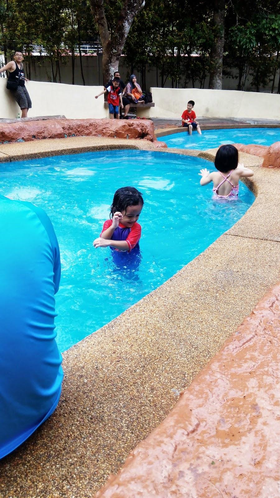 Kolam kanak-kanak, taman belia pulau pinang, kolam air,