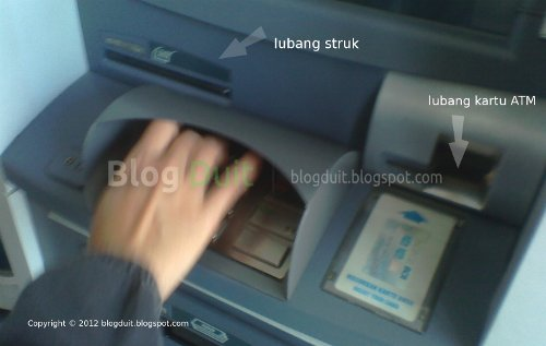 Gambar Ketik Jumlah Uang ATM BCA