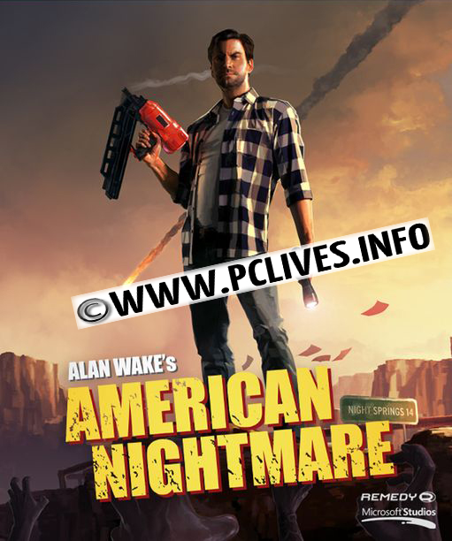Alan Wakes American Nightmare pc game cover download