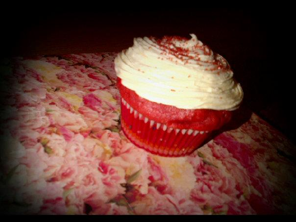Red Velvet Cupcakes Cream Cheese Frosting