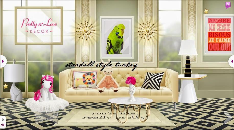Stardoll style turkey pretty 39 n 39 love dekor yenilendi for Dekor turkey