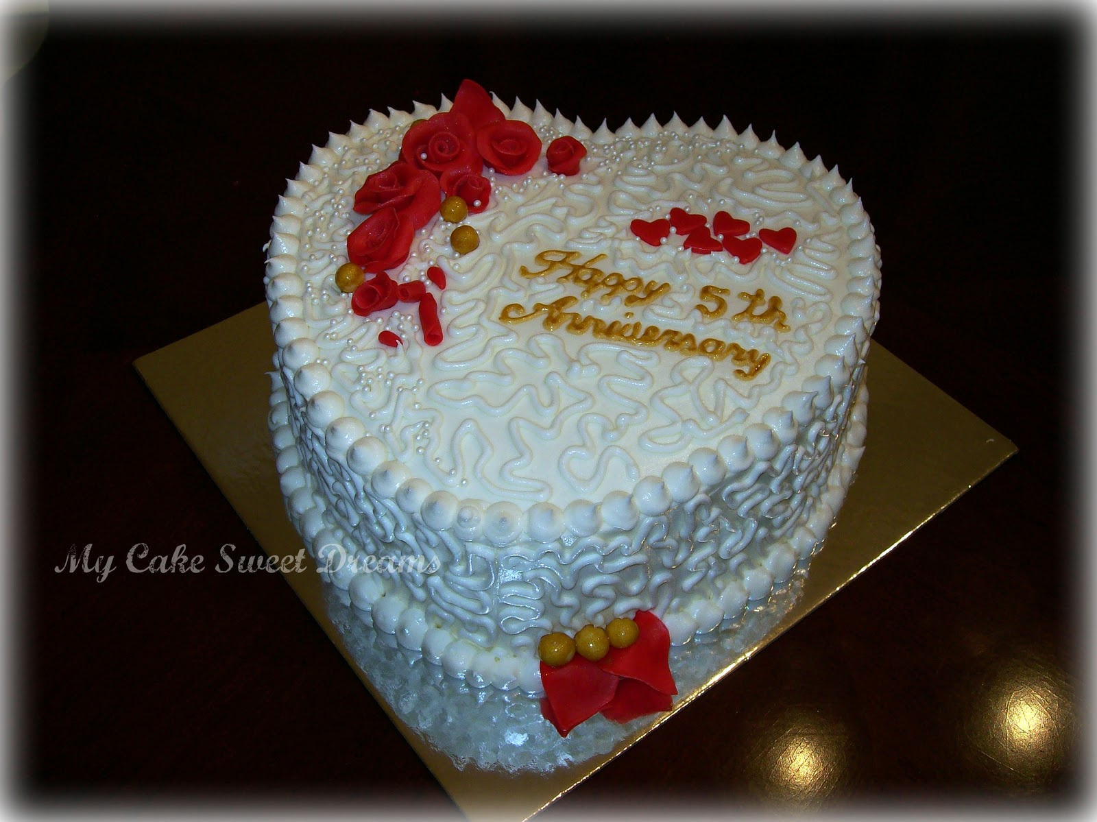 My Cake Sweet Dreams: Anniversary Cake