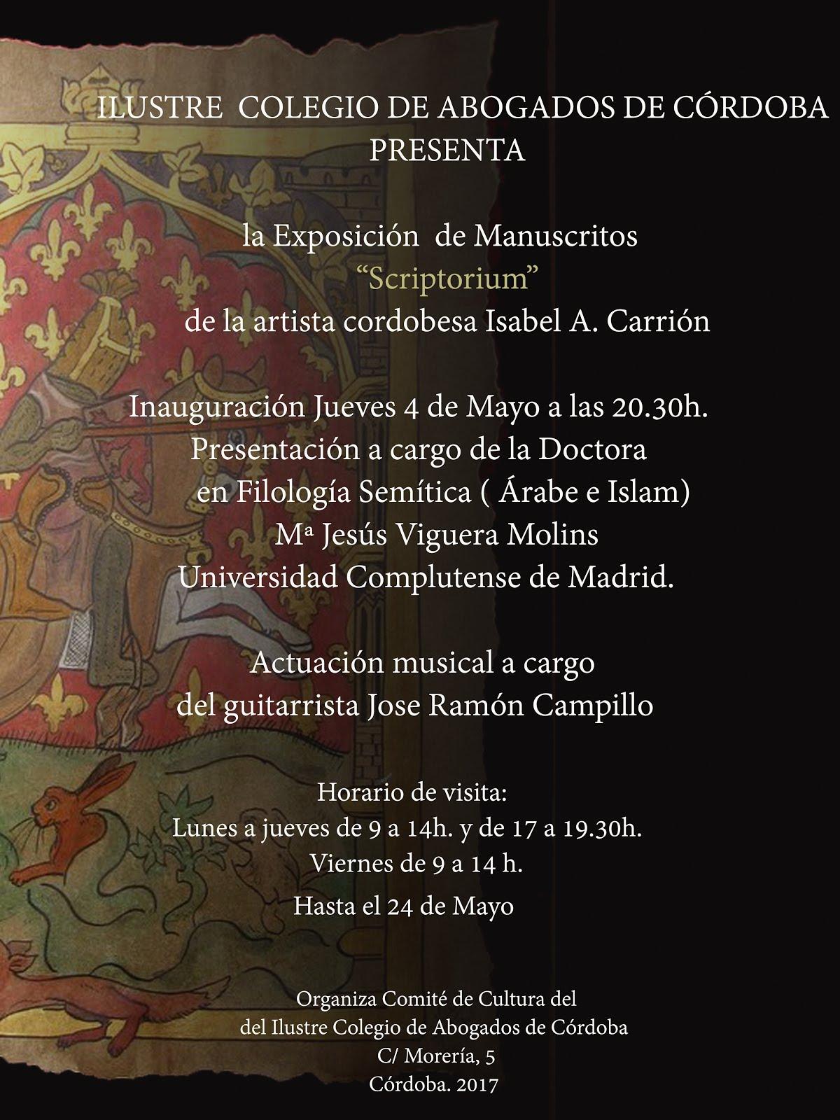 Ilustre Colegio de Abogados de Córdoba :  Mayo 2017