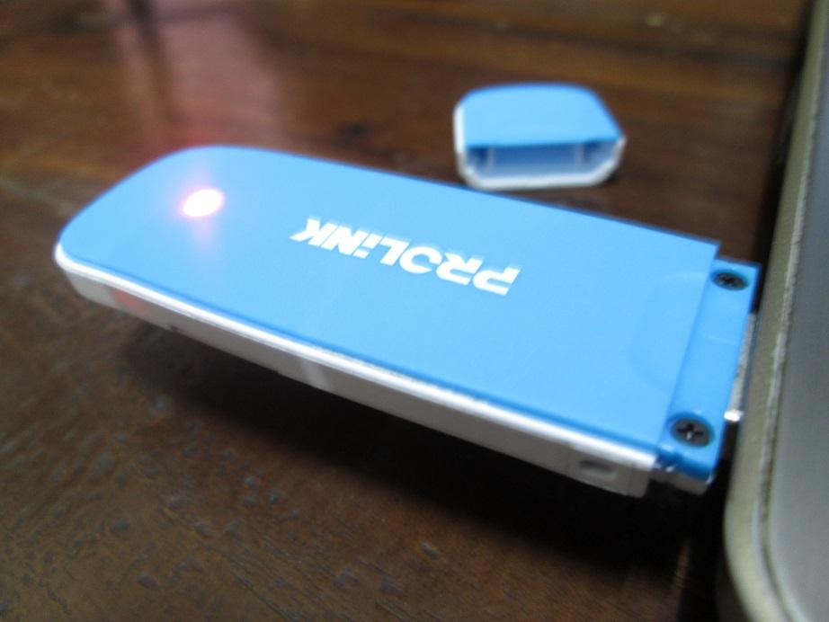Tech Gadget And Review Review Modem Prolink PCM100 Slim