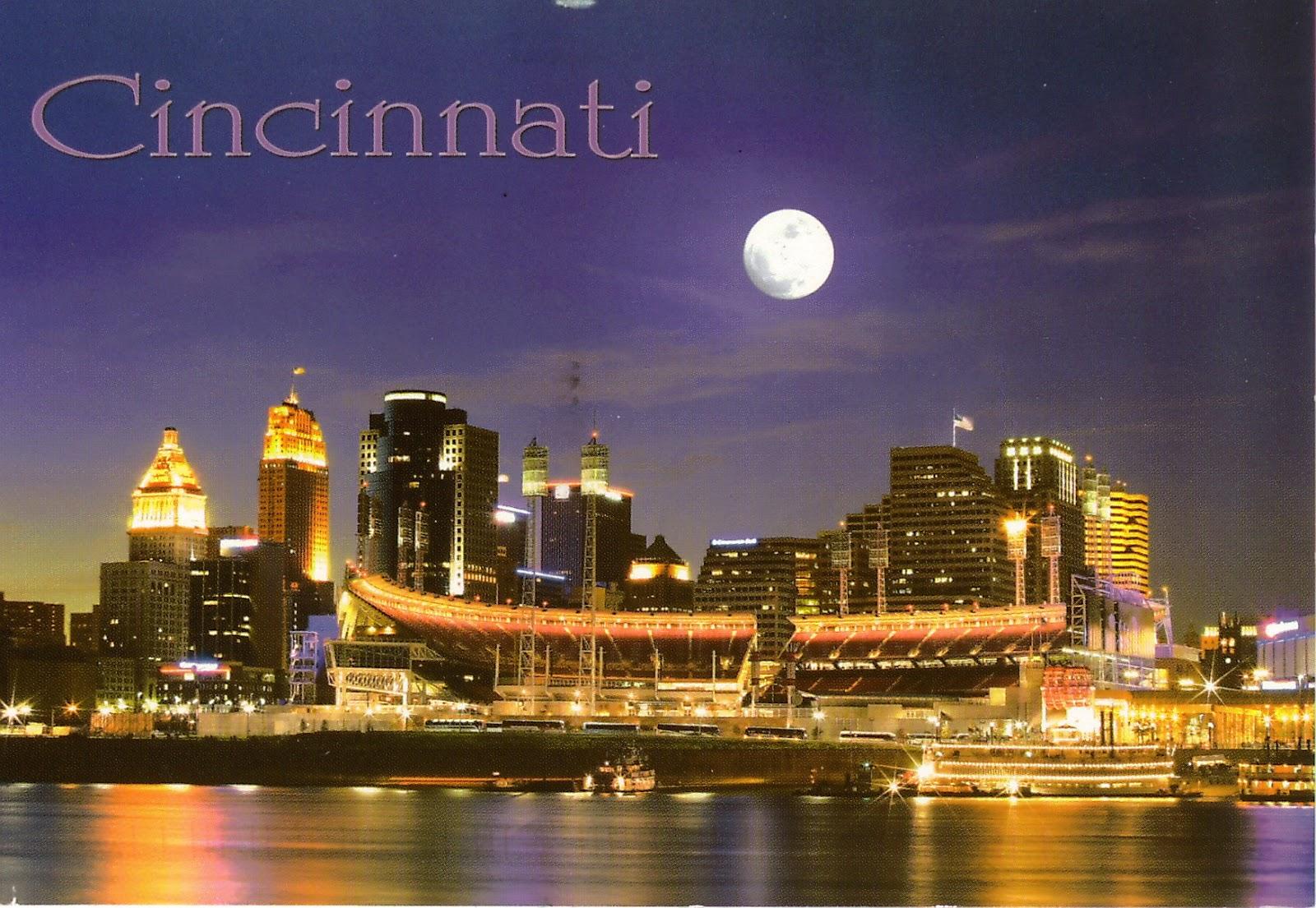 My Postcard World Cincinnati Ohio