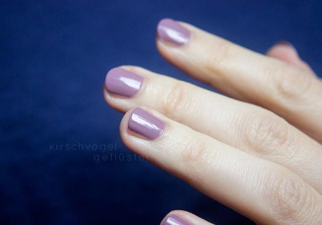 p2 gracious nagellack nail polish mauve swatch