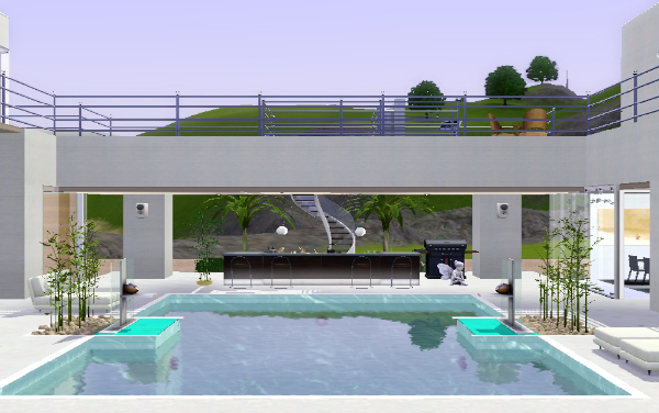 House plans and design modern house plans sims 4 for Pool designs sims 4