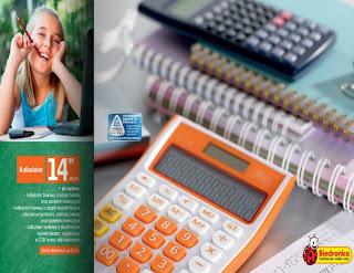 Kalkulator z Biedronki ulotka