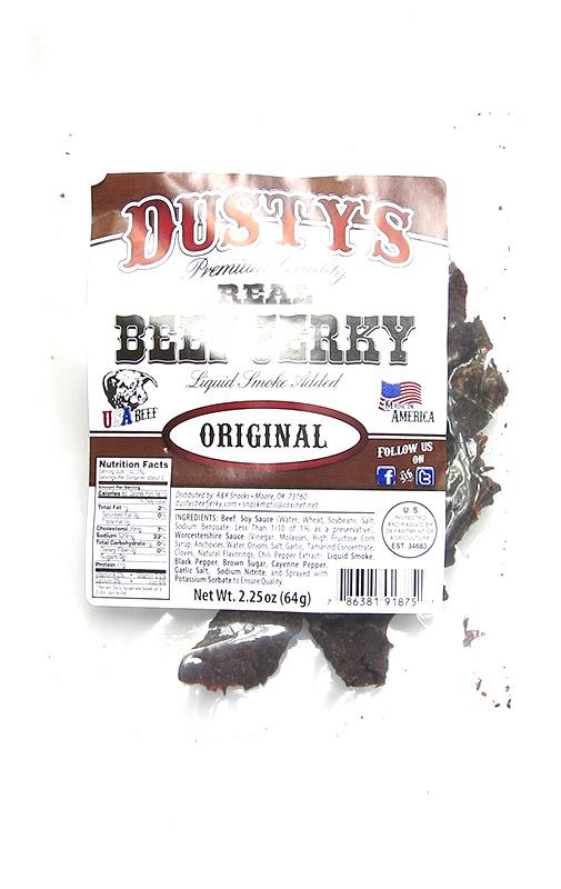 dustys beef jerky