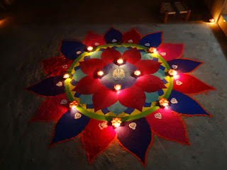 hd diwali rangoli wallpaper