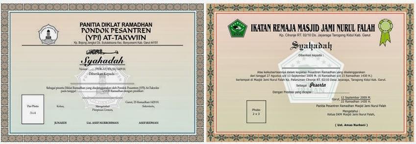 kb jpeg kumpulan desain sertifikat keren desain piagam coreldraw cdr