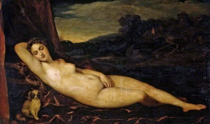 Sleeping Venus (after Titian), ca. 1760