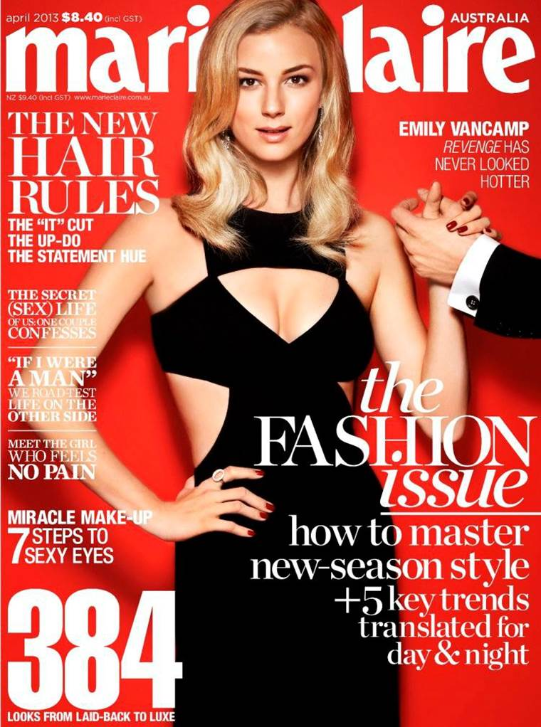 Emily VanCamp Covers