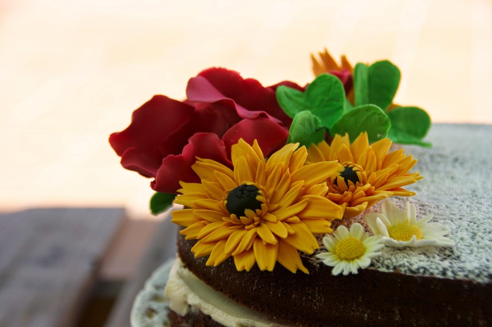 Gerbera i altres flors de sucre