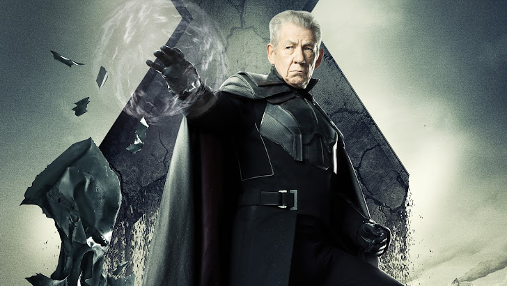 ian mckellen as magneto / erik lehnsherr in x men days of future past