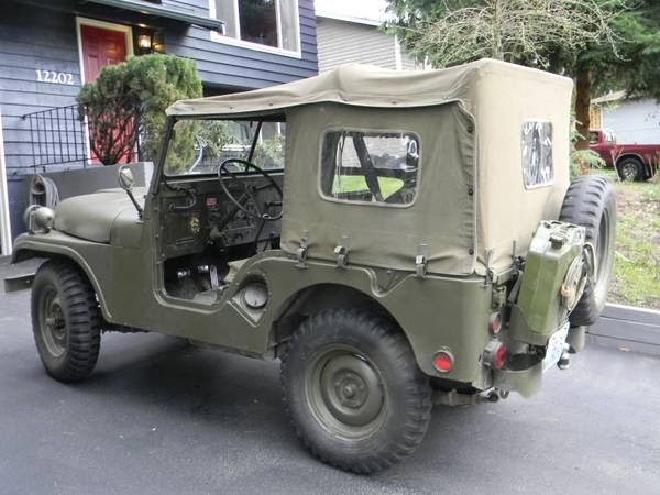 1954 jeep willys m38a1 for sale 4x4 cars. Black Bedroom Furniture Sets. Home Design Ideas