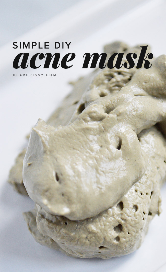 DIY Acne Mask