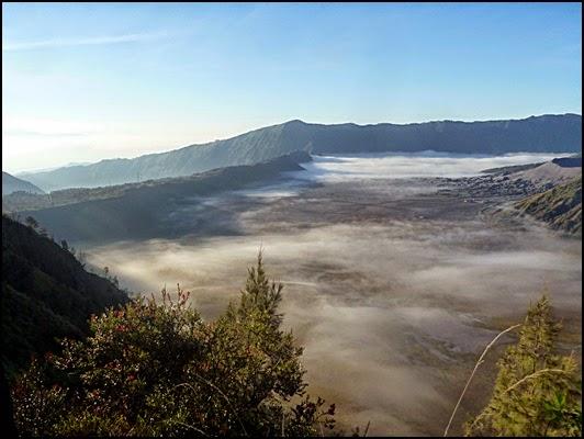 Pemandangan Bromo dari Bukit Cinta
