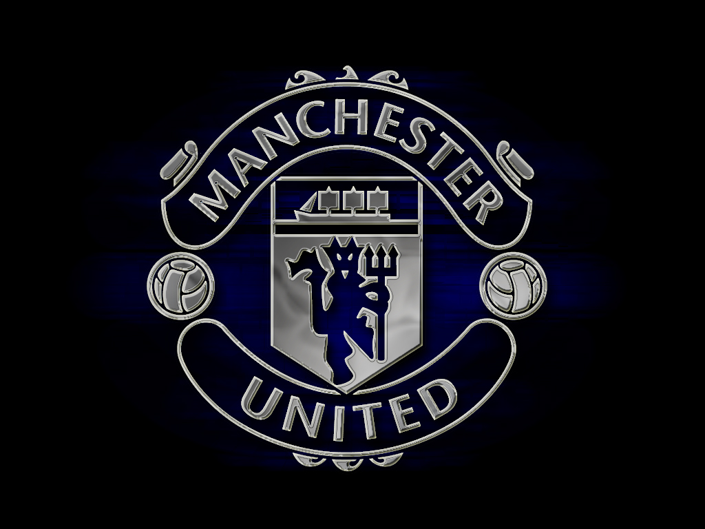 Wallpaper Manchester United Logo