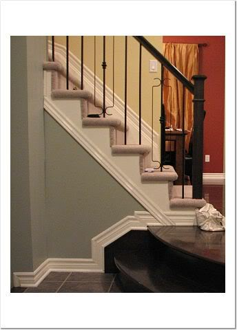 Farrow and Ball Light Blue Farrow's Cream and Picture Gallery Red