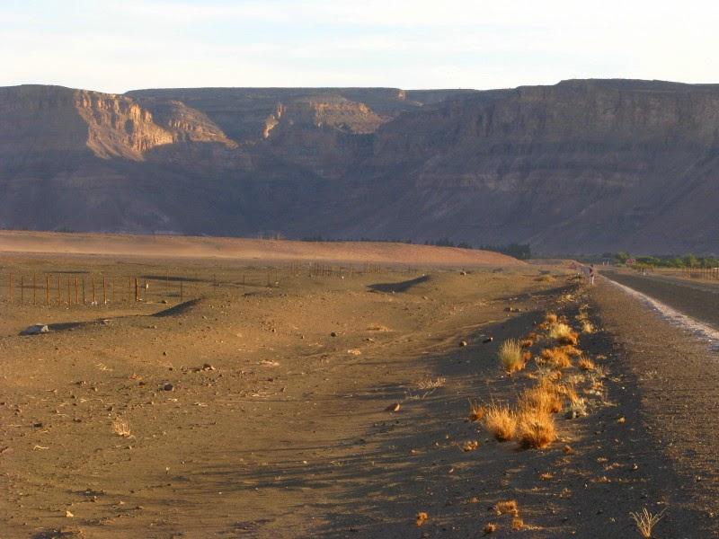 Namibia - southern border