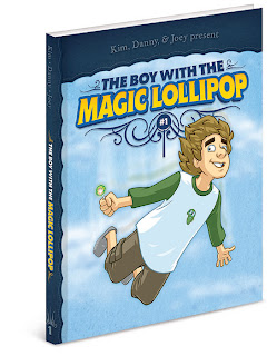 Danny Moore Illustrator Magic Lollipop Cover Illustration