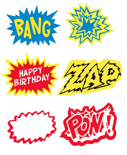 Let39;s Panic: FUN FAIL: SUPERHERO PARTY FREE PRINTABLE IDEAS and other
