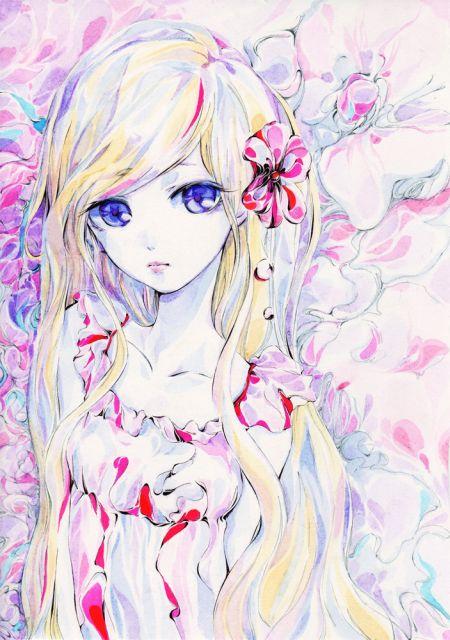 Charmal ilustrações mulheres garotas estilo anime mangá Meiga