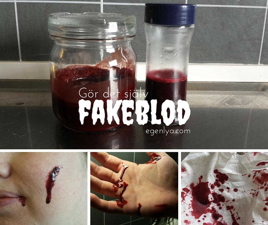 sminka fake sår