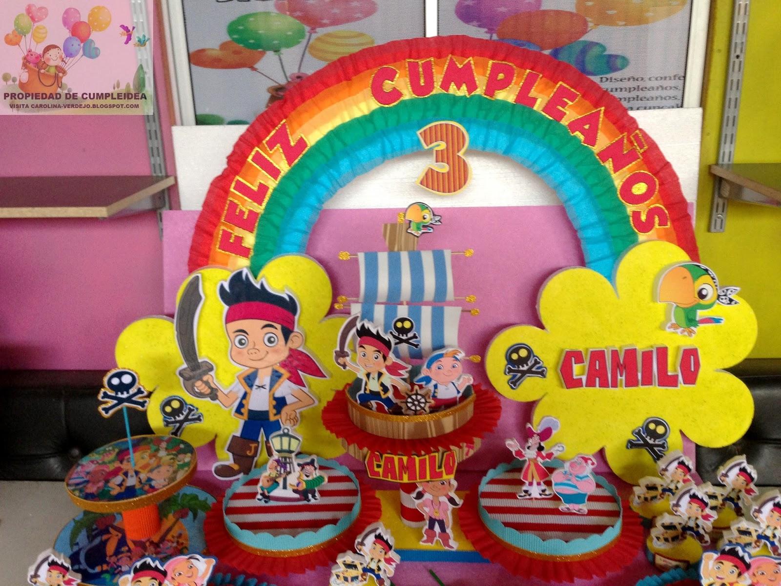 Ayuda Mini Fiesta De Jake Y Los Piratas Del Pais De Nunca