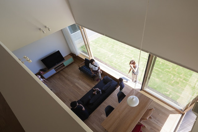 Sliding Door House by Naoi Architecture & Design Office - Inspiring Modern Home