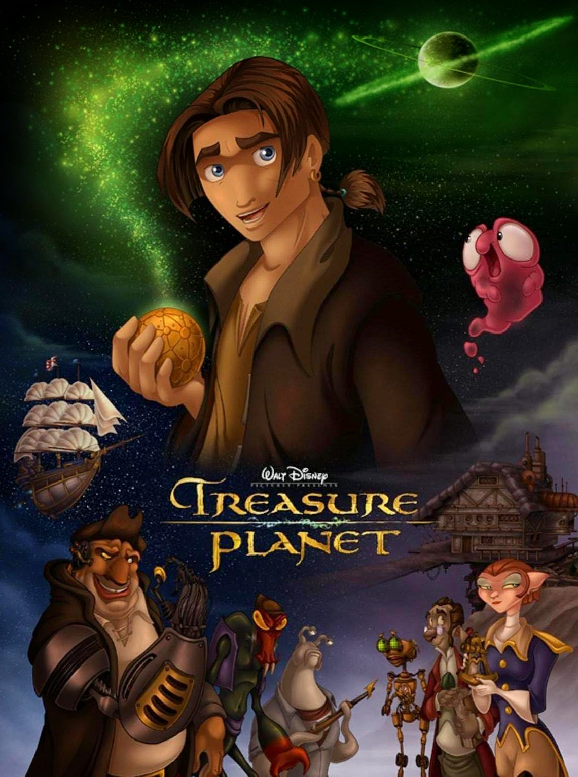 treasure planet full movie - HD1140×1533