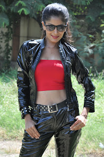 Anukruti Sharma sizzlng pics in Latex Jacket Trousers and Red Inner Junctionlo Jayamalini launch event