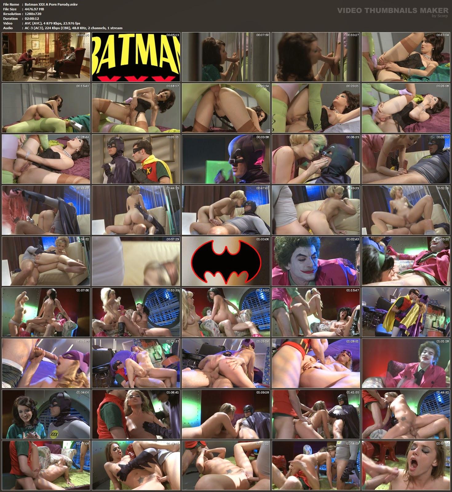 Batman xxx a porn parody  бэтман xхх пародия 2010