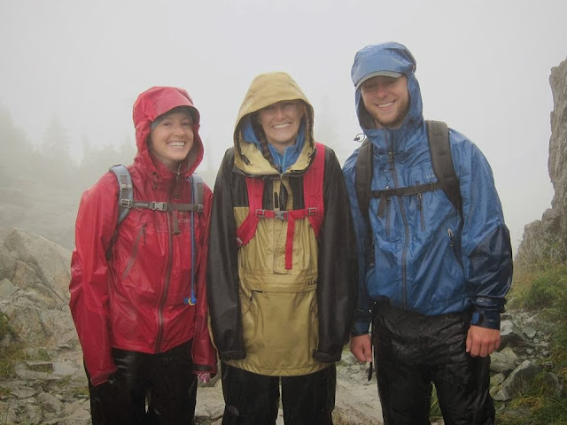 Rainy hike on Mt. Seymour, North Vancouver