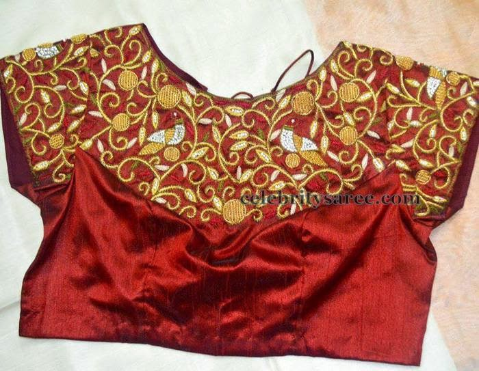 Blouse Designs with Sequins