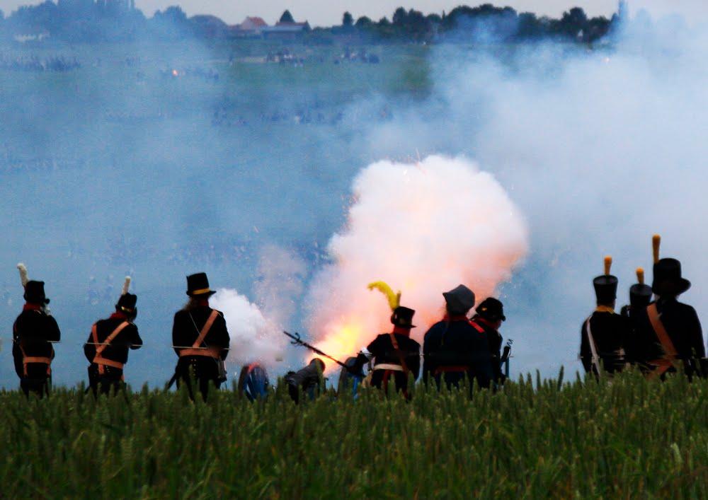 Waterloo 2015 reenactment