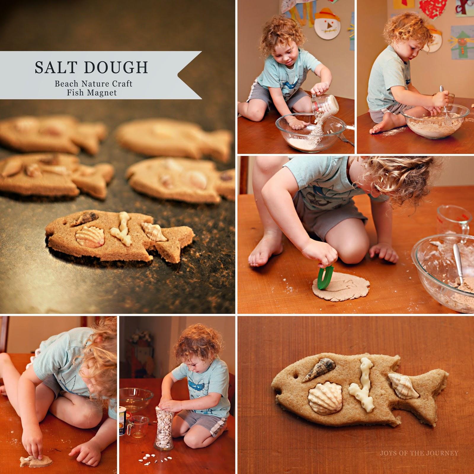 Joys of the journey nature salt dough craft for Salt dough crafts figures